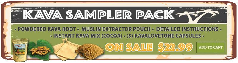 Kava Sampler Pack